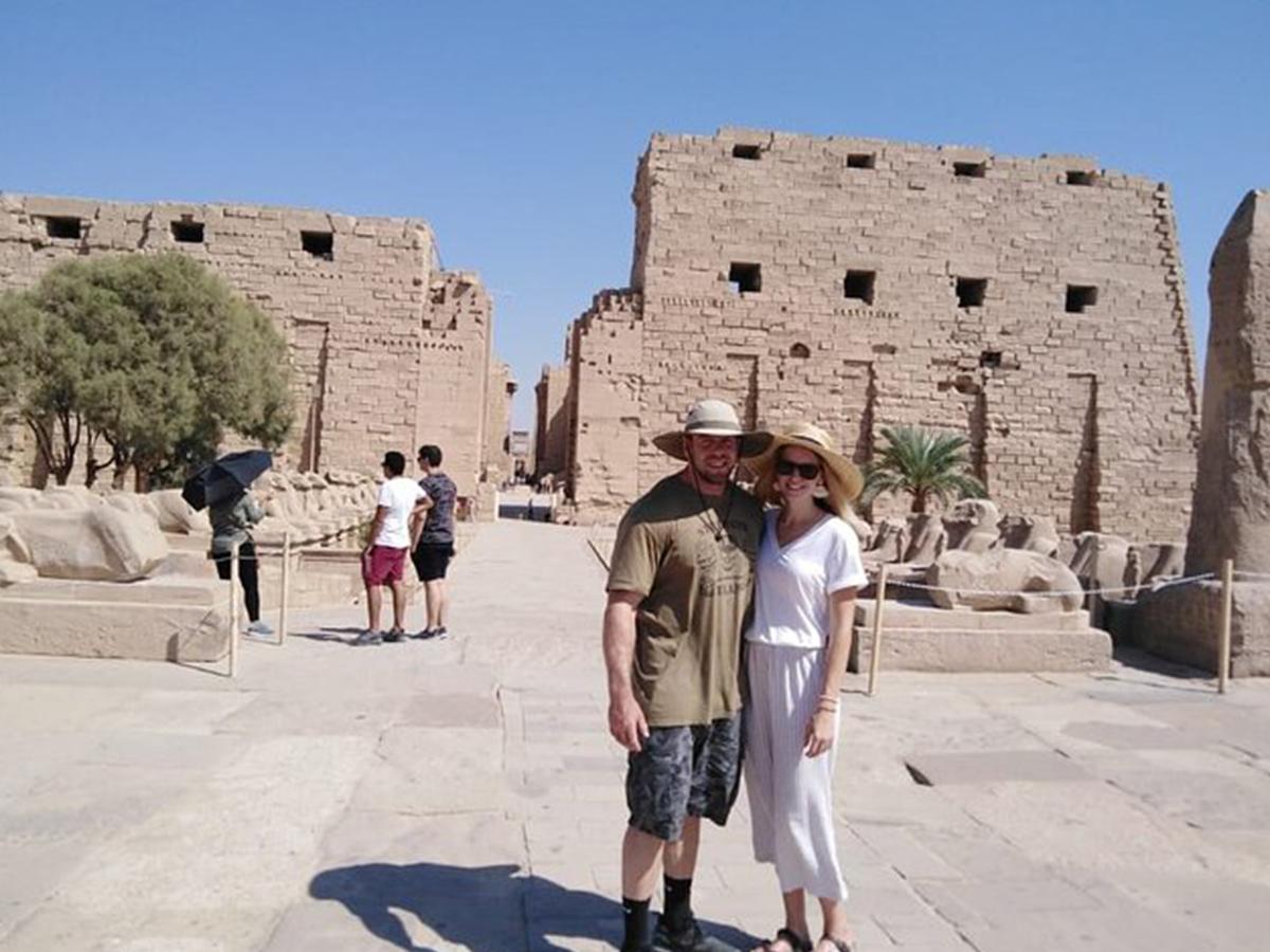 Day 4: Luxor (East Bank) tour / Sleeping Train