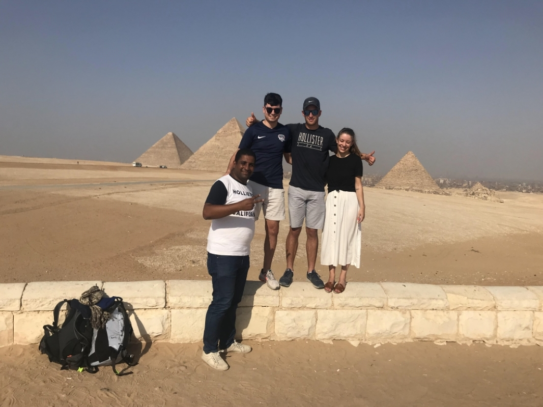 Day 2: Pyramids of Giza, The Great Sphinx and Egyptian Museum in Cairo.